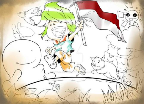 69th independence day of indonesia by wiz3ard