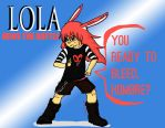 LOLA JOINS THE BATTLE by The-KingofFools