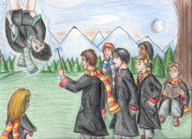 Marauders and Snape - Colored by Taniadragon