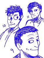 late night doctor who doodle by mangobrains