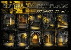 Gothic Secret Place by KlaraKay