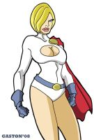 P is for Power Girl by Gaston25