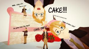CAKE!!!!! - America. by Quincy1313