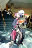 AX: Akasuki Sakura and Kakashi by VML