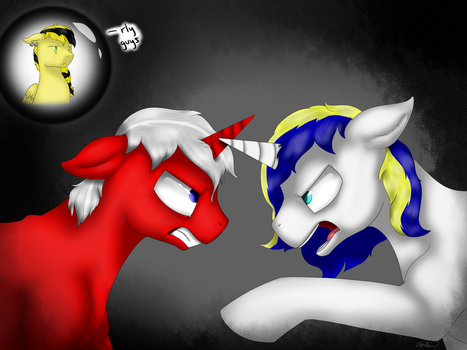 Fight to the Death (sort of) by gittykitty264