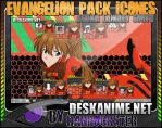 Asuka Langley Soryu Pack Icons by Danrockster