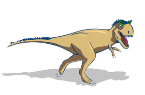 Ef'in T-Rex by doctormo