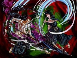 Commision - Rukia vs Eiji by ToPpeRa-TPR