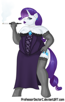 Rarity  - Snobby by ProfessorDoctorC