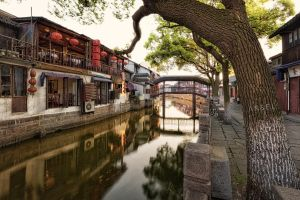 ZhuJiaJiao waterways by Draken413o