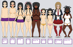 Different types of TG by fetishgirl0602