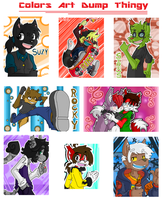Colors Art Dump Thingy by AKAFoxtail