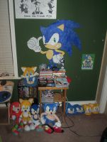 My Sonic Collection by SonicOfTheHedge
