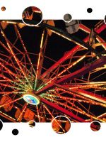 Retro Ferris Wheel by laura-worldwide
