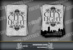 City Light Business Card by DeityDesignz