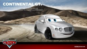 Bentley pixarisation -Bradley by yasiddesign