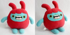 Maxter - Monchi Monster Plush by yumcha
