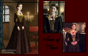 Anne of Cleves Brown Dress by msbrit90
