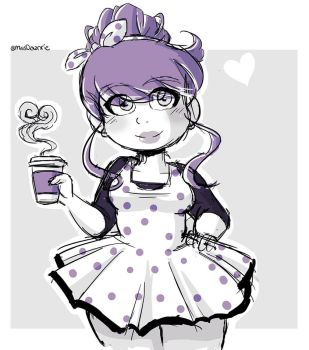 .:Coffee Girl:. by Dawnrie