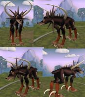 Spore Dobermon X Evolution by GantzAistar