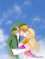 .:The Kiss:. by Maga-Link