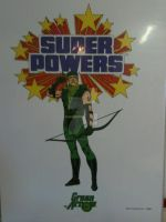 SUPER POWER POSTER GREEN ARROW by monitor-earthprime