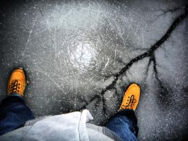 Ice Is Breaking Underneath Me by Denitorious