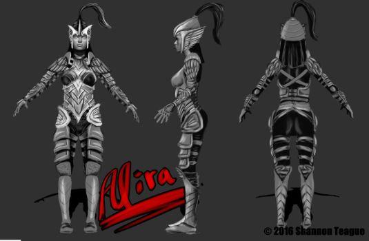 Alira Concept Art by ShannonTeague