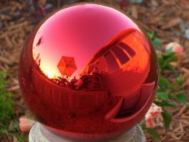 Gazing Ball by stormygate