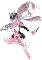 Pink NanoRanger by Tyrranux