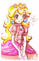 Peach Portrait by LemiaCrescent