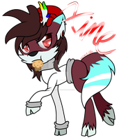 :RQ: Xime's Muffin (Reindeer-Fox) by Juliet-GWOLF18
