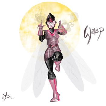 Wasp 2 by middleclasscyborg