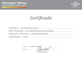 Certified SEBRAE by tulitotutys