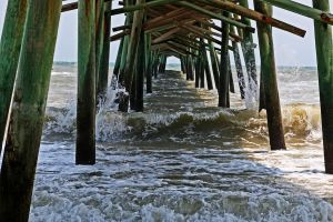 Under the pier by clippercarrillo