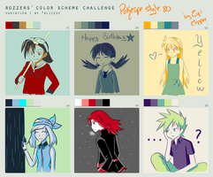 Color Scheme meme - Pokespe Challenge by Eifi--Copper