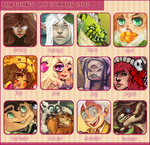 Crypticink Art Summary 2012 by CrypticInk