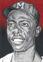 Hank Aaron by JRosales1