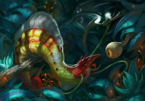 CPA 49: Glorthien Slug by LisaCunha