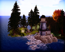 Lighthouse by LydiaTremont