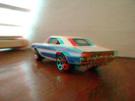 Hot Wheels '69 Charger 3D 002 by LittleBigDave