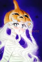 usagi tsukino - trick or treat by zelldinchit