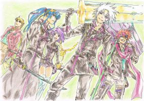 DGM Group by Mika1991