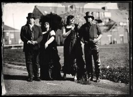 Group Wet Plate by Alexandriaweb