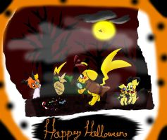 Halloween contest - Candy Hunt by pikachu-25