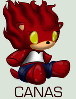 Sonic Plushie Collection:Canas by WingedHippocampus