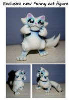Funny cat figure!! by KingZoidLord
