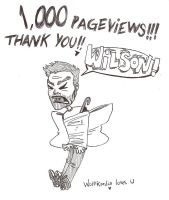 1000 Pageviews by wolfKardia