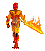 Tahu, Toa of Fire by AndrakaNuva
