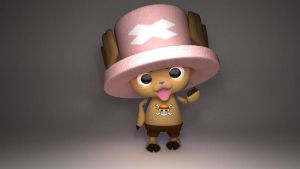 Tony Chopper 3d by NonArk